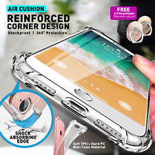 For iPhone Xs max X XR 6S 7 8 Plus 5 Case ShockProof Hybrid Heavy Duty Cover