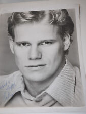 AL CORLEY AUTOGRAPH 8 X10 PHOTO actor 1980'S known FOR Dynasty Steven Carrington