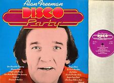 ALAN FREEMAN DISCO PARTY polycell promotional record PCL 001 LP EX/VG uk