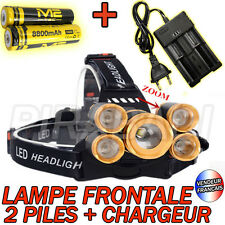 SWAT POLICE 1000M LAMPE TORCHE FRONTALE 9000 LUMENS LED FLASHLIGHT + ACCESSOIRES
