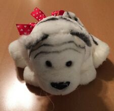 Hallmark White Tiger with Hearts Plush