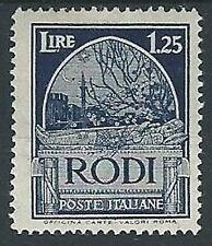 1932 EGEO PITTORICA 1,25 LIRE D. 14 MH * - G010