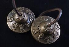 Tibetische Zimbeln Zimbel 8 Glücksverheißende Symbole Meditation Buddhismus