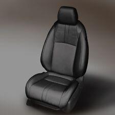 KATZKIN BLK REPLA LEATHER SEAT CVRS FITS 2016-2019 HONDA CIVIC 2DR COUPE LX EX-T