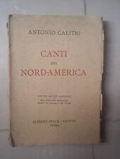 CANTI DEL NORD AMERICA CALITRI 1925