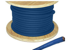 Blue 4 AWG Battery Cable / Blue Welding Cable 20ft made in USA