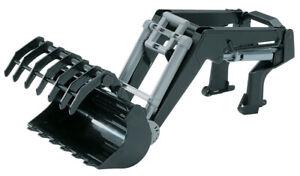 Chargeur pour tracteur série 3000 BRUDER,BRU3333, échelle1/16,BRUDER
