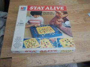 Vintage 1975 MB Games Stay Alive game, complete.