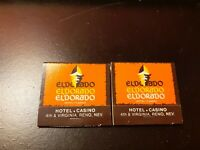 El Dorado Casino Reno Nevada Matchbook 1980's