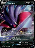 Pokemon TCG Card - Malamar V 121/192 - Ultra Rare Holo - Mint NM