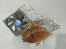 Cooler for CPU ZALMAN, pga370, socket 462/A and compatible, fully copper
