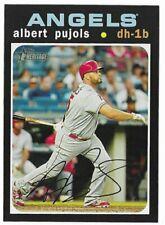 2020 Topps Heritage Base #78 Albert Pujols - Los Angeles Angels