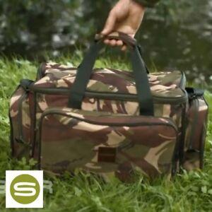 Saber Camo Medium Carryall Carp Fishing DPM Camo Holdall Luggage Bag