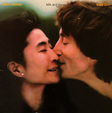 JOHN LENNON & YOKO ONO - Milk And Honey (LP) (VG-/G-VG)