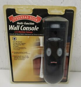 OVERHEAD DOOR OMSWC-2WBL Multi-Function Wall Console with MOTION SENSOR
