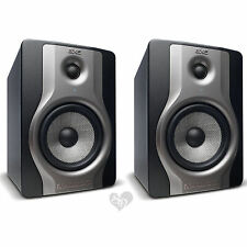 "Pair of M-Audio BX5 Carbon Two Way 5"" Studio Monitors Powered Speakers"
