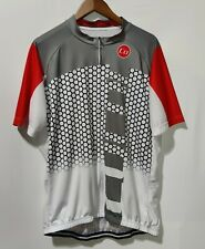 New listing Coconut Full Zip Rear Pocketed Cycling Jersey Reflective Strip Men's 3XL