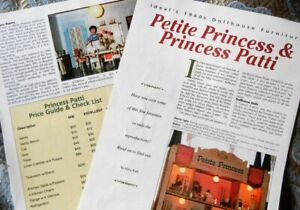 5p History Article + List -  1960s Ideal's Petite Princess Doll House Furniture