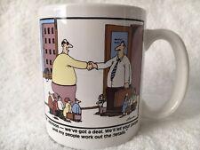 Vintage The Far Side Mug Gary Larson We've Got A Deal Coffee Cup