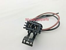 1x 2-way connector pigtail Blower Heater Fan a/c radiator cooling motor for Ford