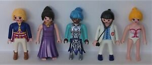 Playmobil City   5 x Assorted Women    Good Condition