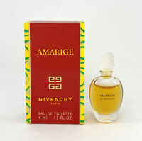 AMARIGE GIVENCHY EAU DE TOILETTE 4 ML. 0.13 FL.OZ. MINI PERFUME NEW IN BOX