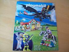 Playmobil Kataloge Katalog aus dem Jahr 2017/18 NEU und unbenutzt
