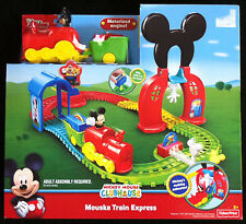 NEW Disney Mickey Mouse Clubhouse Mouska Train Express Playset