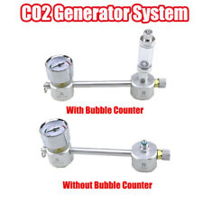 CO2 Generator for Plants Aquarium DIY Kit Pressurized Bubble Counter New AU