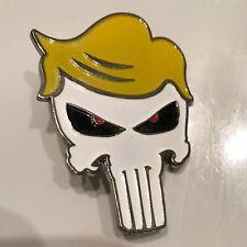 """2X Trump 2020 Skull Pins 1.5/"""" x 1/"""" Pin Plus Decals Free 2"""