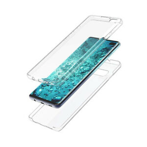 Shockproof 360 Clear Gel Case Cover For Samsung Galaxy S20 A40 A60 Note10 S20+