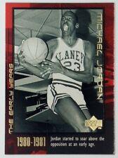 1999 Upper Deck Career Box Set The Early Years Michael Jordan #4, Bulls, HOF