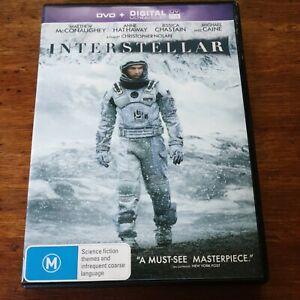 Interstellar DVD R4 VERY GOOD - FREE POST