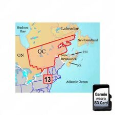 Garmin TOPO Canada Quebec South microSD Card w/ SD adapter 010-C0942-00
