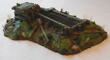 WWII Japanese LMG position avec Trench Resin Model Kit - 20 mm-MS29