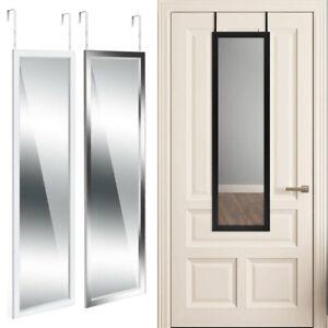 Large Over Door Mirror Long Full Length Wall Door Hanging Mirror Bathroom Glass