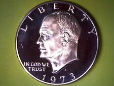 1973 S $1 Clad Proof Ike Dollar **FREE SHIPPING**