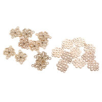 20Pcs Flower Chandelier Component Links Charms for DIY Dangle Earring Making