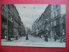 NANCY  :  La Rue des Dominicains........VO.1914.