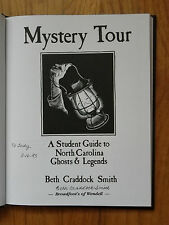"""""""Mystery Tour""""-Smith-1992-1st Ed-Author Signed & Ded-N Carolina Ghosts & Legends"""