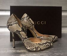 GUCCI Python Snakeskin Roccia Pitone Pump Heels SOLD OUT!!