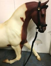 Custom Model Horse HALTER Traditional Breyer Size BLACK