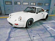 PORSCHE 911 Carrera 3.0 RS Coupe weiss 1974 ready race GT Spirit NEU NEW 1:18