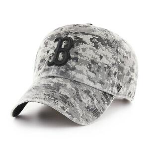 MLB Boston Red Sox Baseball Cap Digi Phalanx Camoflauge Cleanup Camouflage