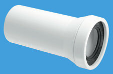 McAlpine WC-CON3 Tinta unita estremità Dritto Padella Connettore RICAMBIO n.