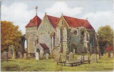 SUSSEX: St Thomas Church,Winchelsea  - A.R.QUINTON - SALMON *3281