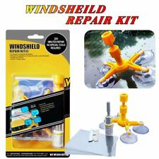 Windshield Repair Kit Crack DIY Auto Glass Wind Screen Chips & Cracks UK
