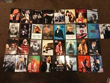 More details for nirvana kurt cobain original vintage postcard collection x 33 must see free post