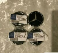 Mercedes Benz Alloy Wheel Centre Caps – Set of 4 - 75mm