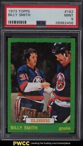1973 Topps Hockey Billy Smith ROOKIE RC #162 PSA 9 MINT